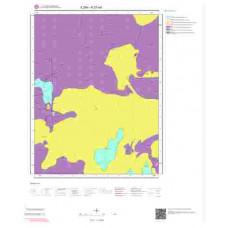 K27a4 Paftası 1/25.000 Ölçekli Vektör Jeoloji Haritası