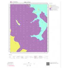 K27c4 Paftası 1/25.000 Ölçekli Vektör Jeoloji Haritası