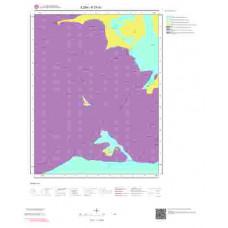 K27d1 Paftası 1/25.000 Ölçekli Vektör Jeoloji Haritası