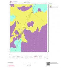 K27d2 Paftası 1/25.000 Ölçekli Vektör Jeoloji Haritası