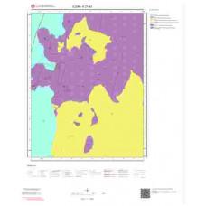 K27d3 Paftası 1/25.000 Ölçekli Vektör Jeoloji Haritası