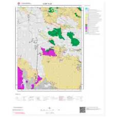 K28 Paftası 1/100.000 Ölçekli Vektör Jeoloji Haritası