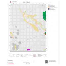 K28a3 Paftası 1/25.000 Ölçekli Vektör Jeoloji Haritası