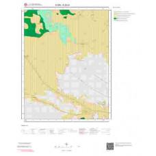 K28b1 Paftası 1/25.000 Ölçekli Vektör Jeoloji Haritası