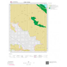 K28b2 Paftası 1/25.000 Ölçekli Vektör Jeoloji Haritası