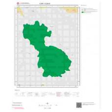K28b3 Paftası 1/25.000 Ölçekli Vektör Jeoloji Haritası