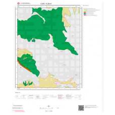 K28b4 Paftası 1/25.000 Ölçekli Vektör Jeoloji Haritası