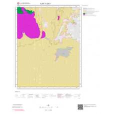 K28c1 Paftası 1/25.000 Ölçekli Vektör Jeoloji Haritası