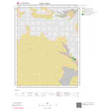 K28c2 Paftası 1/25.000 Ölçekli Vektör Jeoloji Haritası