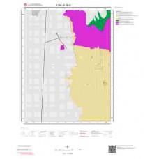 K28d2 Paftası 1/25.000 Ölçekli Vektör Jeoloji Haritası