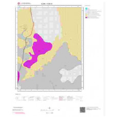 K28d3 Paftası 1/25.000 Ölçekli Vektör Jeoloji Haritası