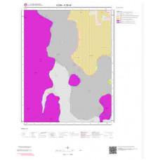 K28d4 Paftası 1/25.000 Ölçekli Vektör Jeoloji Haritası