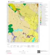 K29 Paftası 1/100.000 Ölçekli Vektör Jeoloji Haritası