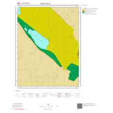 K29a1 Paftası 1/25.000 Ölçekli Vektör Jeoloji Haritası