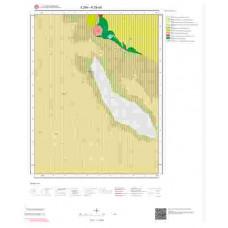 K29a3 Paftası 1/25.000 Ölçekli Vektör Jeoloji Haritası