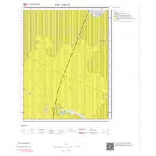 K29b3 Paftası 1/25.000 Ölçekli Vektör Jeoloji Haritası