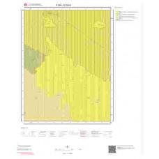 K29b4 Paftası 1/25.000 Ölçekli Vektör Jeoloji Haritası