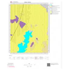 K29c3 Paftası 1/25.000 Ölçekli Vektör Jeoloji Haritası