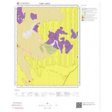 K29c4 Paftası 1/25.000 Ölçekli Vektör Jeoloji Haritası