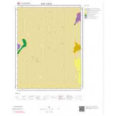 K29d3 Paftası 1/25.000 Ölçekli Vektör Jeoloji Haritası