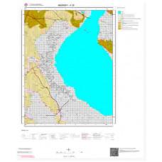 K30 Paftası 1/100.000 Ölçekli Vektör Jeoloji Haritası