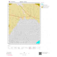 K30a2 Paftası 1/25.000 Ölçekli Vektör Jeoloji Haritası