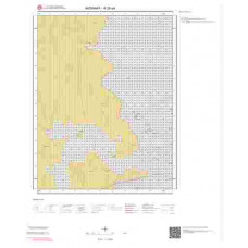 K30a4 Paftası 1/25.000 Ölçekli Vektör Jeoloji Haritası