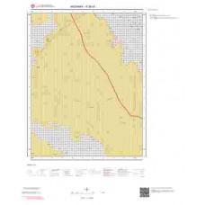 K 30-d1 Paftası 1/25.000 ölçekli Jeoloji Haritası