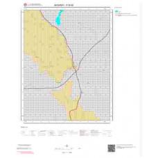 K30d3 Paftası 1/25.000 Ölçekli Vektör Jeoloji Haritası