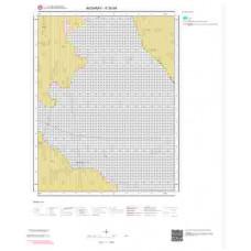 K30d4 Paftası 1/25.000 Ölçekli Vektör Jeoloji Haritası