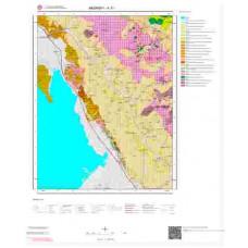 K 31 Paftası 1/100.000 ölçekli Jeoloji Haritası