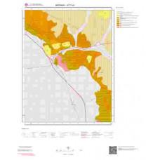 K31a1 Paftası 1/25.000 Ölçekli Vektör Jeoloji Haritası