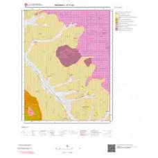 K31a2 Paftası 1/25.000 Ölçekli Vektör Jeoloji Haritası