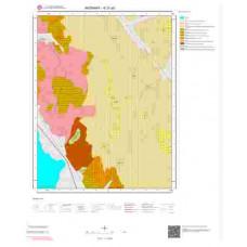 K31a3 Paftası 1/25.000 Ölçekli Vektör Jeoloji Haritası