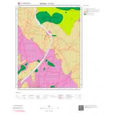 K 31-b2 Paftası 1/25.000 ölçekli Jeoloji Haritası