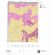 K 31-b3 Paftası 1/25.000 ölçekli Jeoloji Haritası