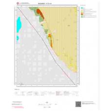 K31c4 Paftası 1/25.000 Ölçekli Vektör Jeoloji Haritası