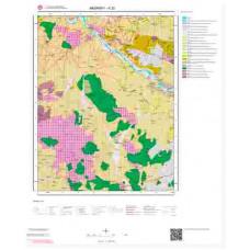 K 32 Paftası 1/100.000 ölçekli Jeoloji Haritası
