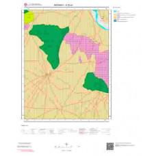K32a1 Paftası 1/25.000 Ölçekli Vektör Jeoloji Haritası