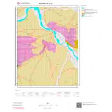 K32a2 Paftası 1/25.000 Ölçekli Vektör Jeoloji Haritası