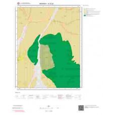 K32a3 Paftası 1/25.000 Ölçekli Vektör Jeoloji Haritası