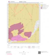 K32a4 Paftası 1/25.000 Ölçekli Vektör Jeoloji Haritası