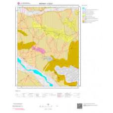 K32b1 Paftası 1/25.000 Ölçekli Vektör Jeoloji Haritası