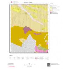 K32b2 Paftası 1/25.000 Ölçekli Vektör Jeoloji Haritası