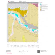 K32b3 Paftası 1/25.000 Ölçekli Vektör Jeoloji Haritası