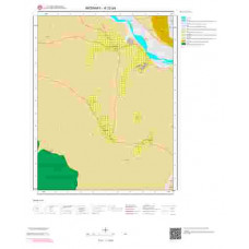 K32b4 Paftası 1/25.000 Ölçekli Vektör Jeoloji Haritası