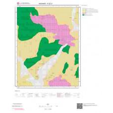 K32c1 Paftası 1/25.000 Ölçekli Vektör Jeoloji Haritası