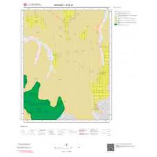 K32c2 Paftası 1/25.000 Ölçekli Vektör Jeoloji Haritası