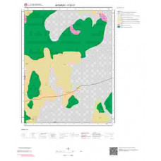 K32c3 Paftası 1/25.000 Ölçekli Vektör Jeoloji Haritası