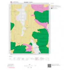 K32c4 Paftası 1/25.000 Ölçekli Vektör Jeoloji Haritası